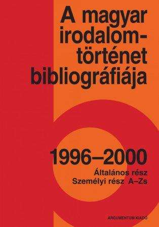 A magyar irodalomtörténet bibliográfiája 10.