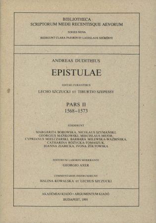 Epistulae Pars II. 1568-1573
