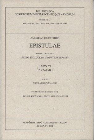 Epistulae Pars IV. 1575