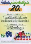 Iskolapszichológia 20. – A beszédészlelés fejlesztése óvodásoknál és kisiskolásoknál – Játékkatalógus