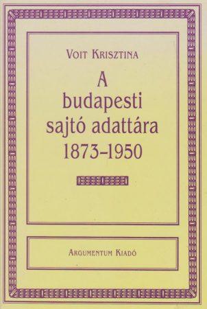 A budapesti sajtó adattára 1873–1950