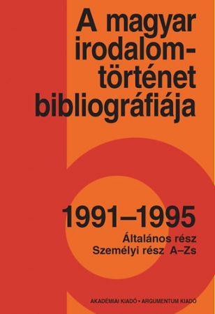 A magyar irodalomtörténet bibliográfiája 9.