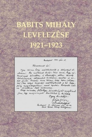 Babits Mihály levelezése 1921-1923