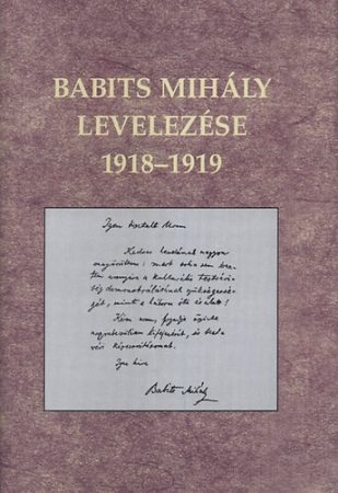 Babits Mihály levelezése 1918-1919