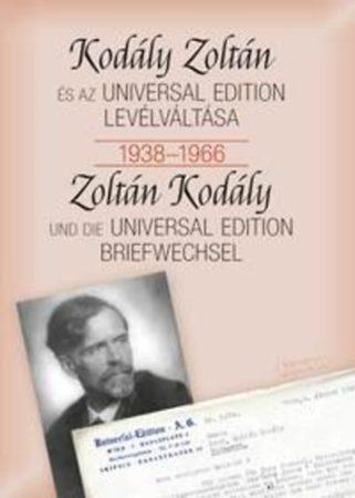 Kodály Zoltán és az Universal Edition levélváltása 1938-1966
