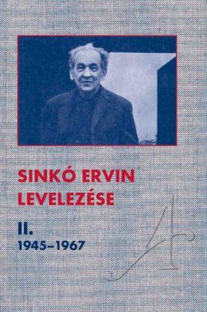Sinkó Ervin levelezése II.