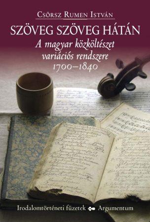 Szöveg szöveg hátán - Irodalomtörténeti füzetek 165.